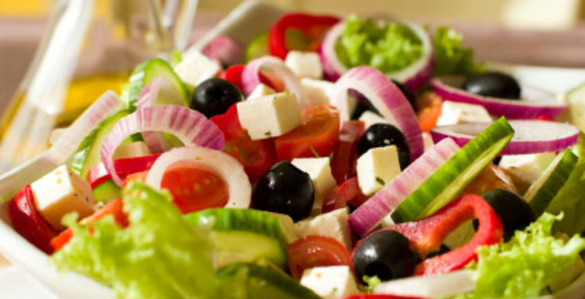 Греческий салат консервация