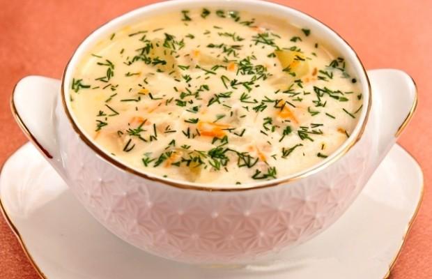 сырный суп из сыра плавленного сыра