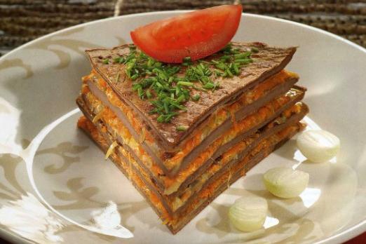 торт из печени рецепты с фото